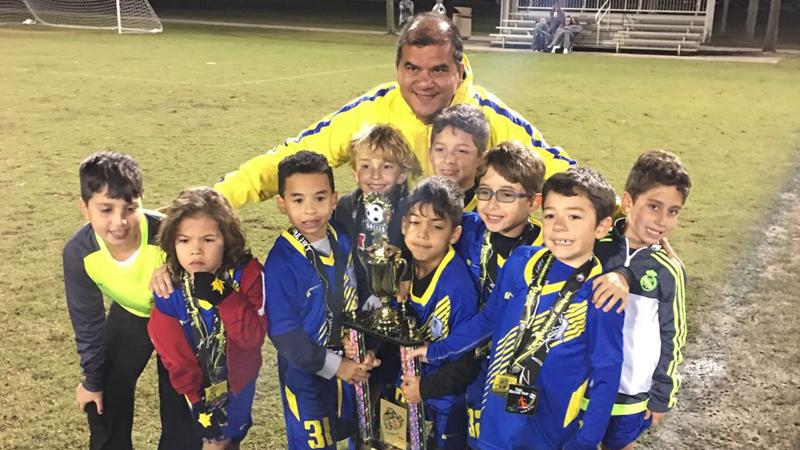 Doral Soccer U9 Red Finalist Naples_2016