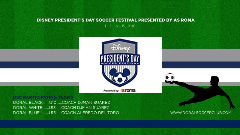 Disney President's Day Soccer Festival presented by AS Roma