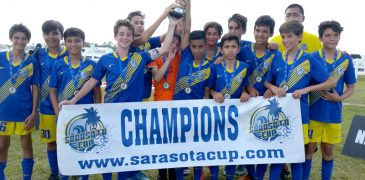 U13 Blue Champions Sarasota Cup 2016