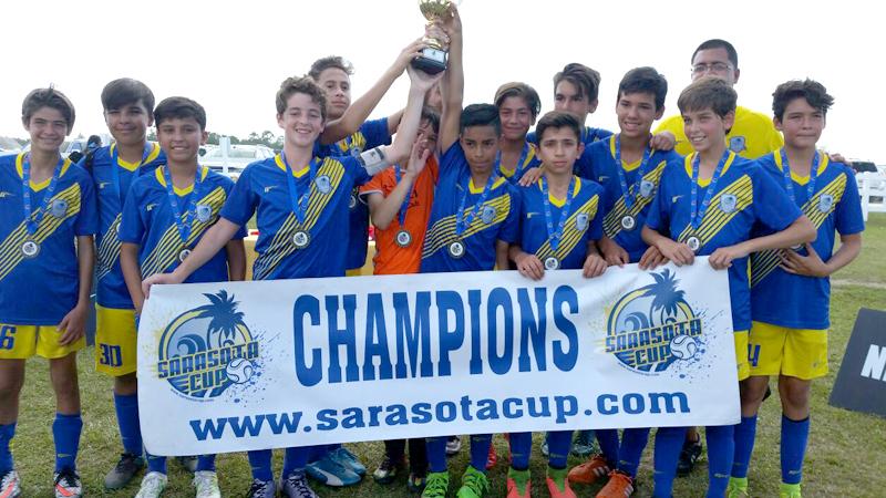 U13 Blue Champions Sarasota Cup April 23/24, 2016