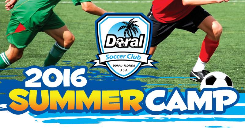 Doral Soccer Summer Camp 2016