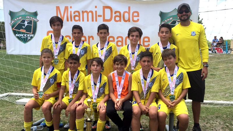 U12 White Champions MDSL May2016