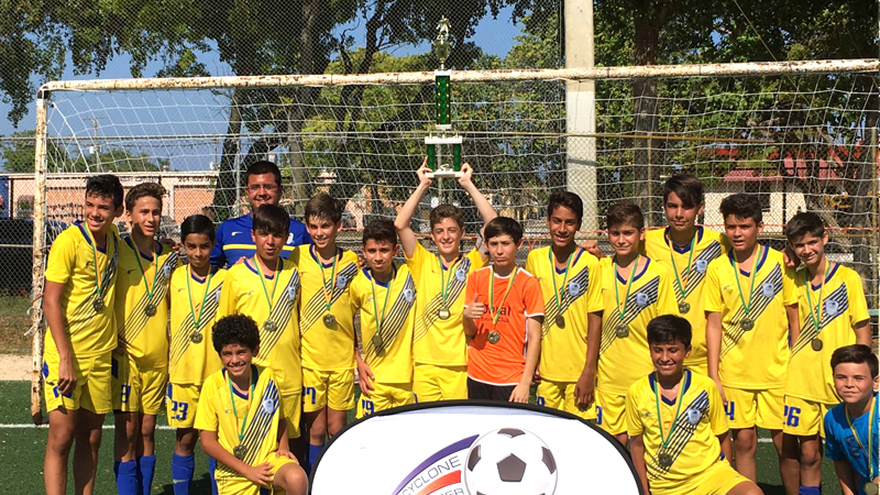 U13 Blue Champions Tri County League April / May, 2016