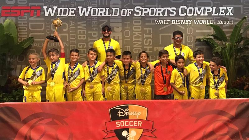 U9 White Champions Disney 2016