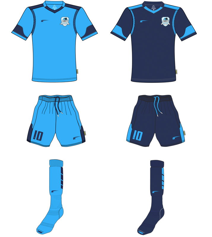 Doral Soccer Club Uniforms a 2016