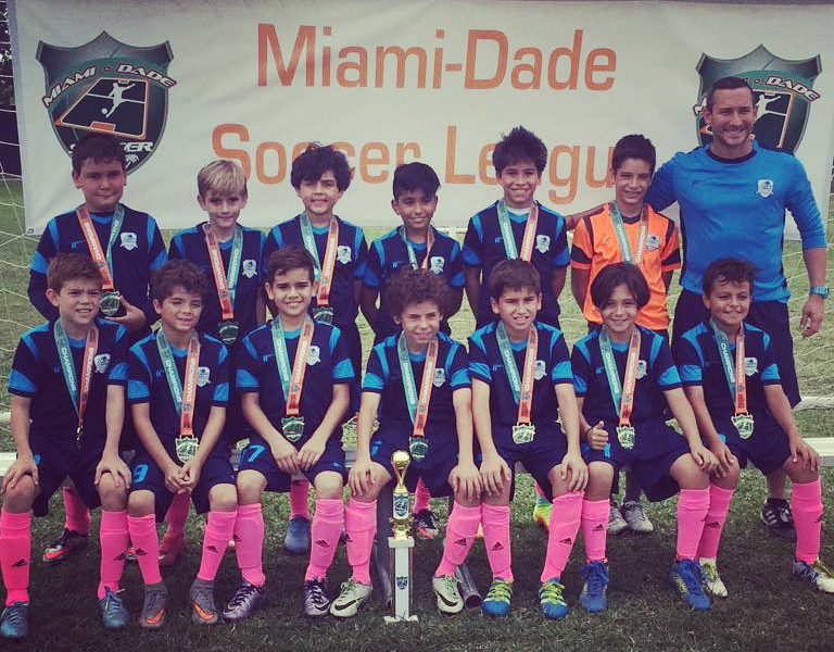 Miami Dade Soccer League U11 Blue Champion's