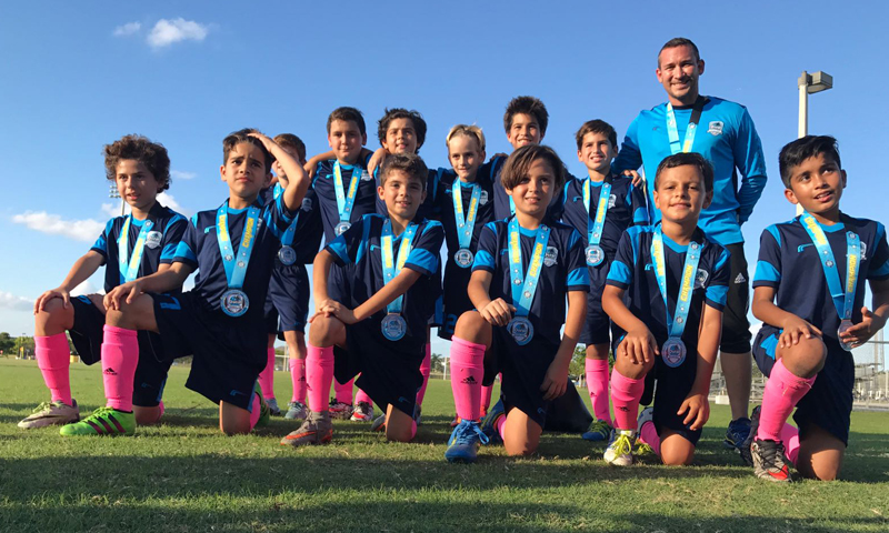 U11 Blue Champion's The Pre- Thanksgiving Gold Cup
