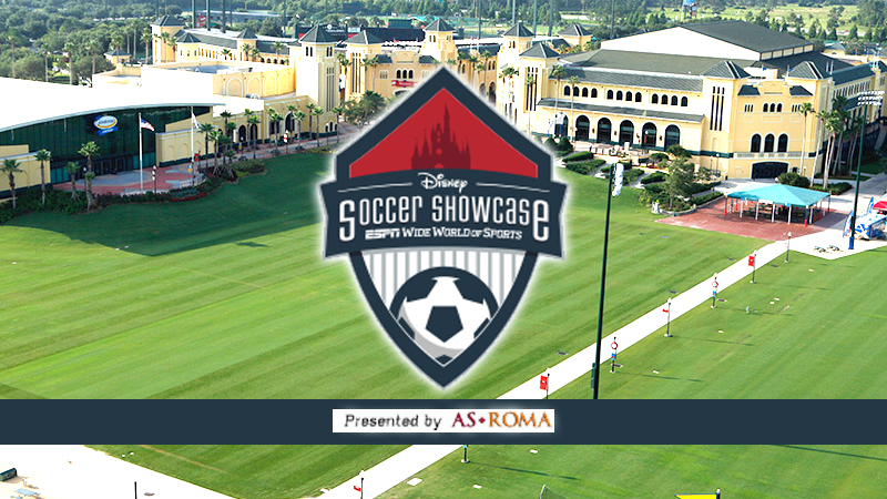 Disney Boys Soccer Showcase presented by AS Roma