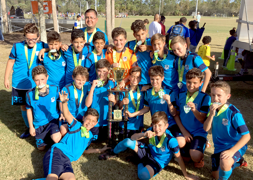 U13 Blue Champion The Dimitri Cup, Naples 2017