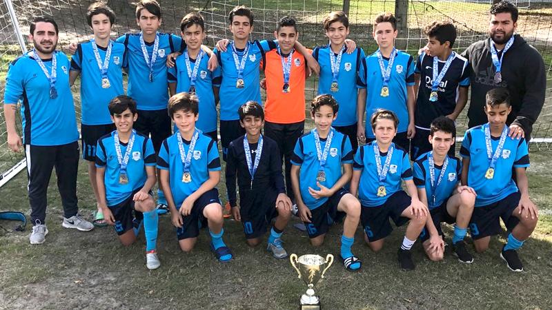 Florida Rush Cup •U14 White Champion