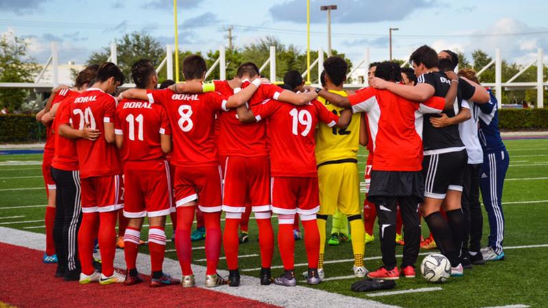 Doral Academy Charter Soccer Boys Team