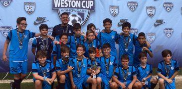 U13 Blue Finalist Weston Cup Showcase 2017