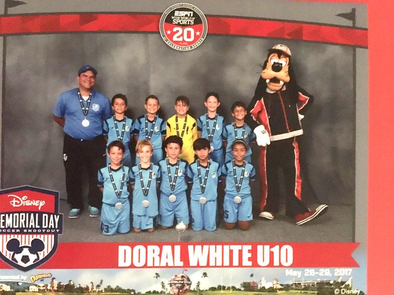 Doral U10 White Finalist