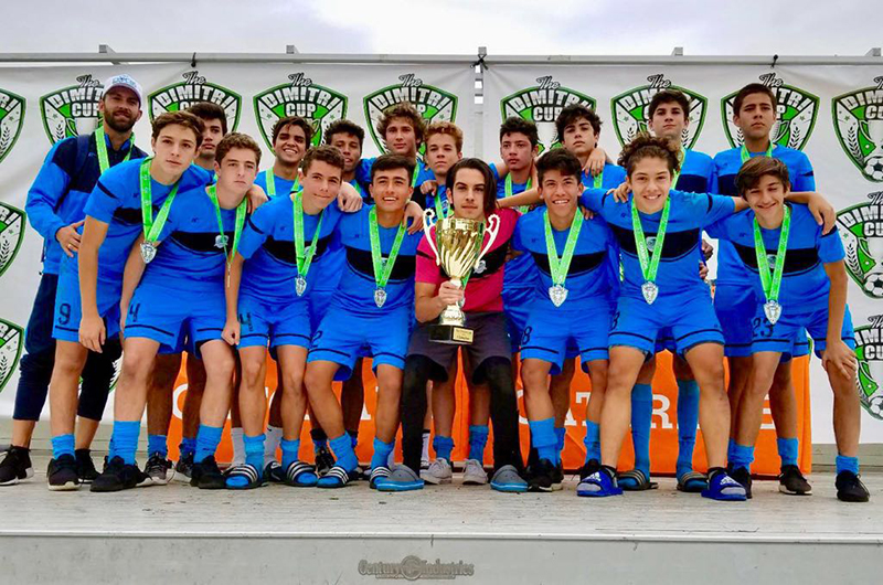 U16 White Champion's Dimitri Cup January