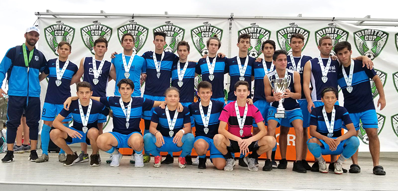 U18 Elite Finalist Dimitri Cup January